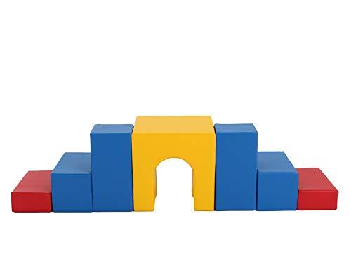 Lowest Prices! IGLU Brand Climber XL Soft Play Foam Set Climb and Crawl 6 Shape Set
