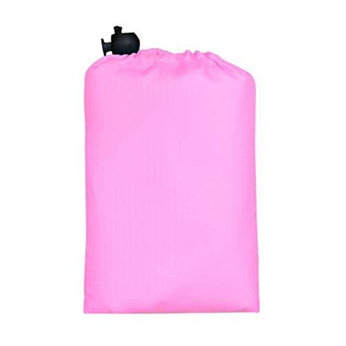 JSJJRFV Estera de Picnic 110x70cm Paquete de Bolsillo de Bolsillo Impermeable Tienda portátil Al Aire Libre Camping Picnic Mat Beach Mat Aren Manta Libre Colchón de Tierra (Color : Pink)