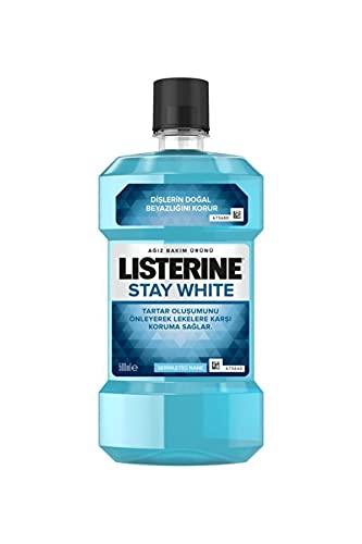 Listerine Mondwater - Stay White 500 ml
