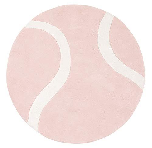 Lilipinso tapijt, katoen, tennisbal, roze