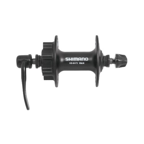 SHIMANO MTB HBM475BL - Buje Delantero M475 32 Disco Negro