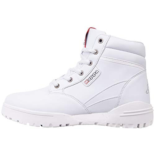 Kappa Unisex-Erwachsene Bonfire LF Klassische Stiefel, Weiß (White 1010), 46 EU