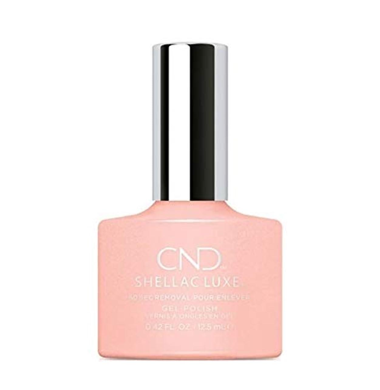 サーフィン山積みの才能CND Shellac Luxe - Grapefruit Sparkle - 12.5 ml / 0.42 oz