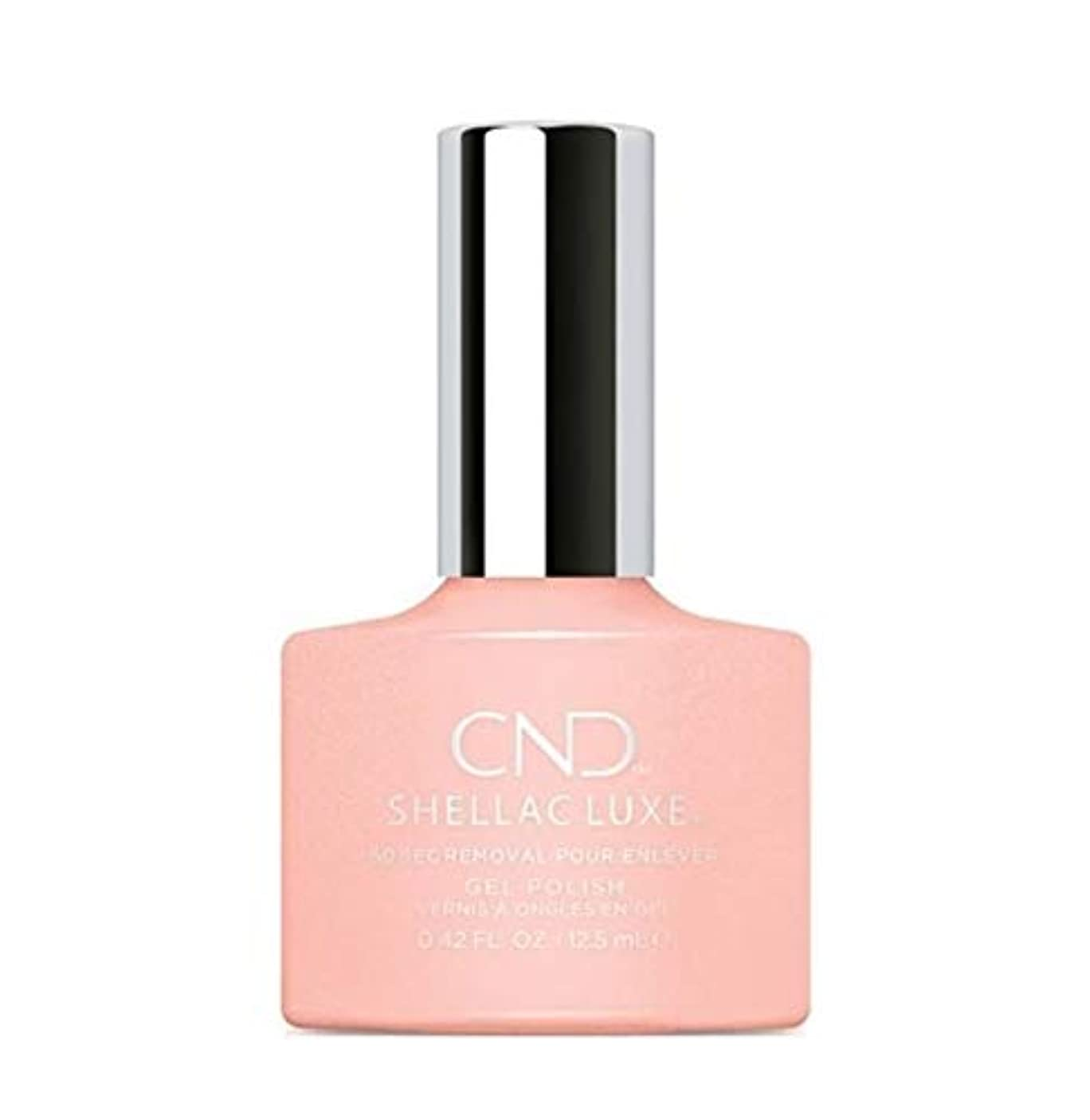 グラフィックメルボルン淡いCND Shellac Luxe - Grapefruit Sparkle - 12.5 ml / 0.42 oz