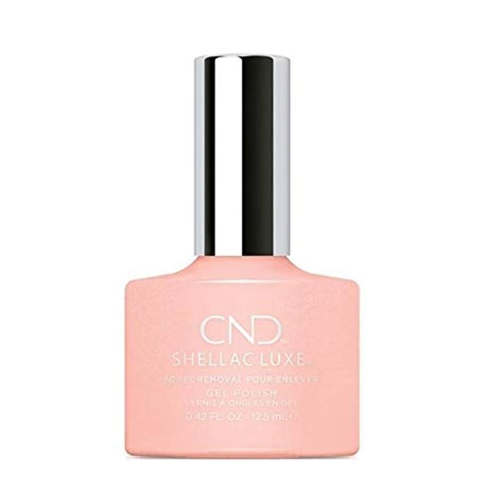 作り上げる炎上風味CND Shellac Luxe - Grapefruit Sparkle - 12.5 ml / 0.42 oz