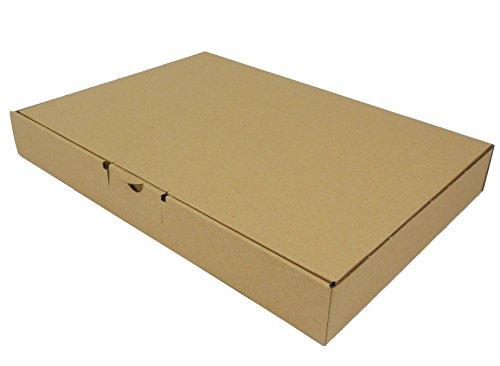 50 Stück Maxibrief Warensendung Karton Versandkartons Verpackung 350 x 250 x 50 B4 …