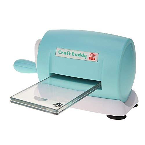 Dies Cutting Machine Die Cuts Embossing Home DIY Plastic Scrapbooking Paper Cutter Card Tool (Blue)