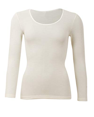 Cosilana, Dames onderhemd lange mouwen, 70% wol 30% zijde