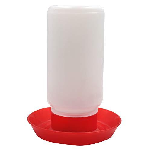 M.Z.A 1L Automatico Pollo mangiatoie e coppette plastica Acqua Potabile Ciotola per Pulcino Gallina quaglia