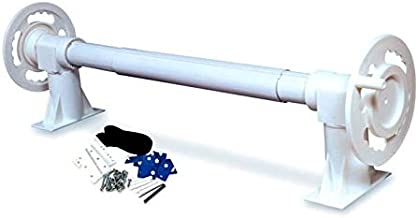 Hydrotools 52000 Above Ground Swimming Pool Solar Blanket Reel Complete System