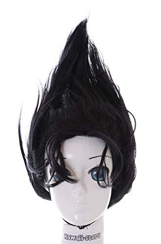 KS-484A Schwarz Punk Frisur für Shinji Itou Kyou Kara Ore wa Cosplay Perücke Wig Anime Manga