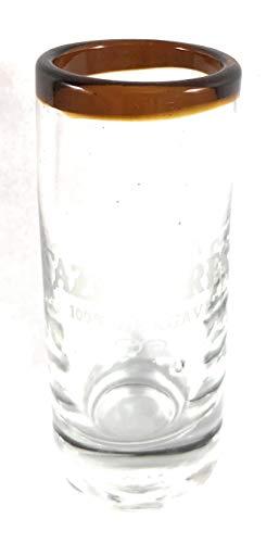 Cazadores Tequila Schnapsglas, bernsteinfarben
