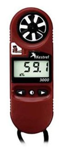 Kestrel 3000 Pocket Wind Meter - Red