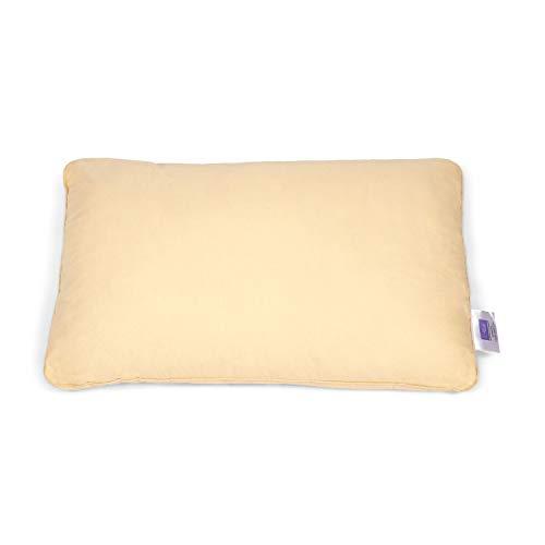 Hush Fiber Bed Pillow, 17 x 27 x 7.25 inch, Beige