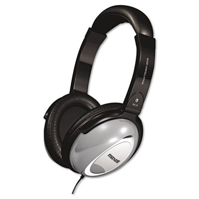 Ideal for Home use or Travel. - MAXELL Corp. of America HP/NC-II Noise Canceling Headphone