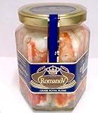 Romanov Cangrejo Real 100% Pata Cristal Lata Gourmet Delicatessen al natural (Cangrejo Real 100% pata envase cristal 310g)