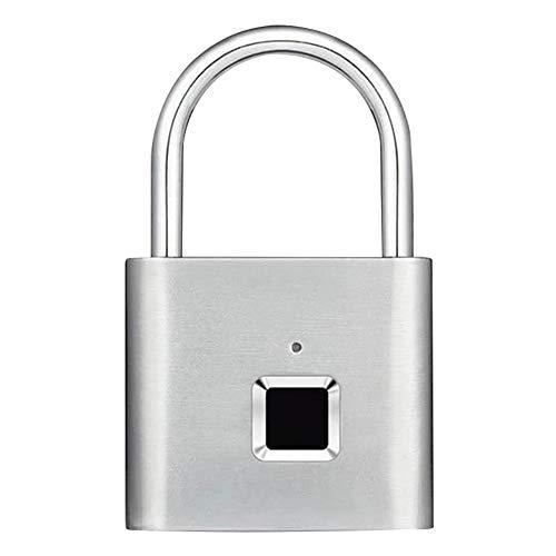 Fintass Waterdichte Vingerafdruk Smart Lock Keyless Hangslot voor Deur Box Tas USB Opladen Lock