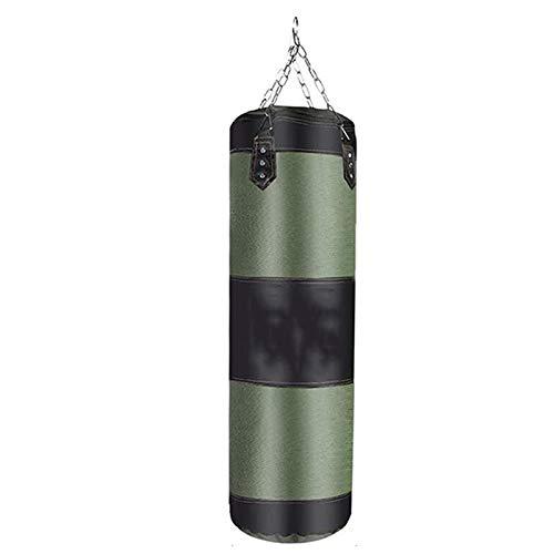 ACD Professional Boxing Boxsack Trainings Kämpfen Karate Hanging Boxsack Erwachsene Gymnastik-Training Boxsack Treten 60/80 / 100cm (Color : Green 60cm)