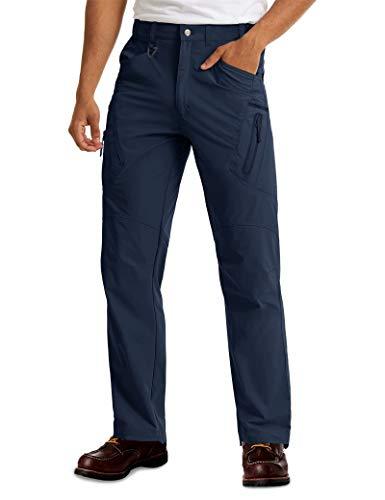 MAGCOMSEN Tactical Pants Men Waterproof Pants Work Pants Cargo Pants Golf Pants Military Pants for Men Quick Dry Hiking...