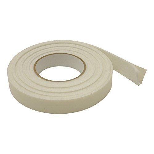 JVCC FELT-08 Polyester Felt Tape [3mm thickness felt]: 1 in. x 10 ft. (White)