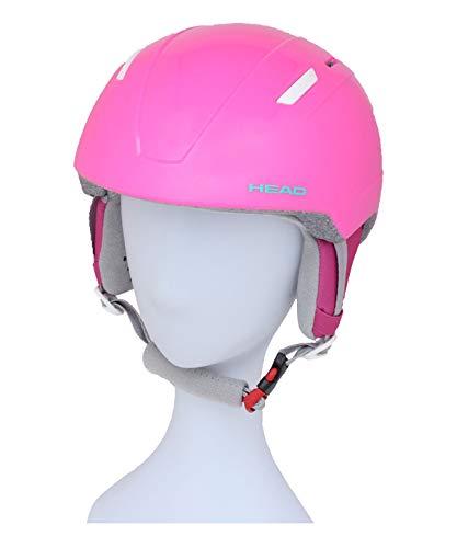 Head Maja, casco da sci unisex per ragazzi e ragazzi, colore rosa, XS S