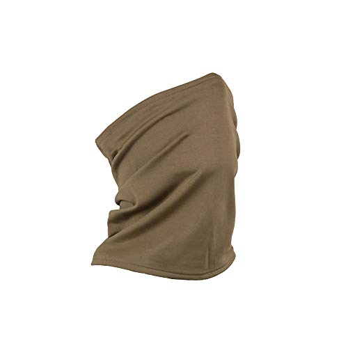 Made in USA Coyote Brown Summer Weight Performance Neck Gaiter (Coyote Brown)