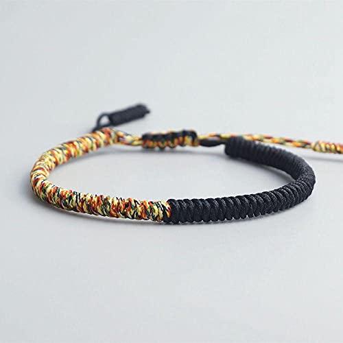 Handmade Knots Vintage Rope Bracelet Tibetan Buddhist Lucky Charm Tibetan Bracelets & Bangles For Women Men
