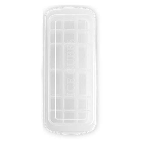 primrosely 18 Gitter Eiswürfelform Mit Deckel Mehrzweck-Eiswürfelform, Multifunktions-Sushi-Kuchenform, Rechteckige Eiswürfelform