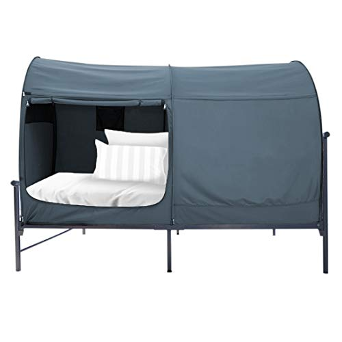 Alvantor Canopy Bed Dream Privacy Space Twin Size Sleeping Tents Indoor Pop Up Portable Frame...
