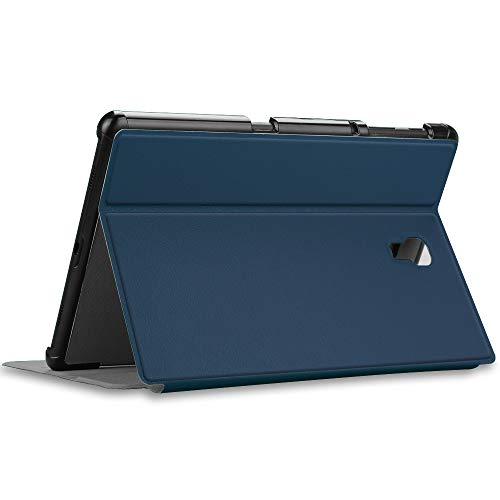 Fintie Hülle für Samsung Galaxy Tab A 10.5 SM-T590/T595 - Folio Stand Schutzhülle mit Auto Sleep/Wake, Multi-Winkel Betrachtung für Samsung Galaxy Tab A 10.5 Zoll 2018 Tablet PC, Marineblau