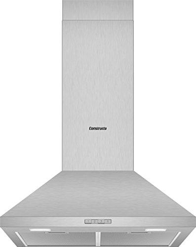 CONSTRUCTA CD616650 Wandhaube/Edelstahl / 60 cm/LED Beleuchtung
