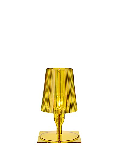 Lámpara de mesa amarilla