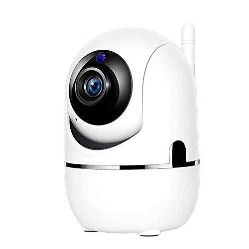 ZHJBD LEIJINGZI Worth Having - 100W Haustierhund WiFi IP-Kamera for Haustier/Elder/Hund/Baby-Monitor, Nachtsicht, Hundekamera mit Zwei-Wege-Audio (Color : White)