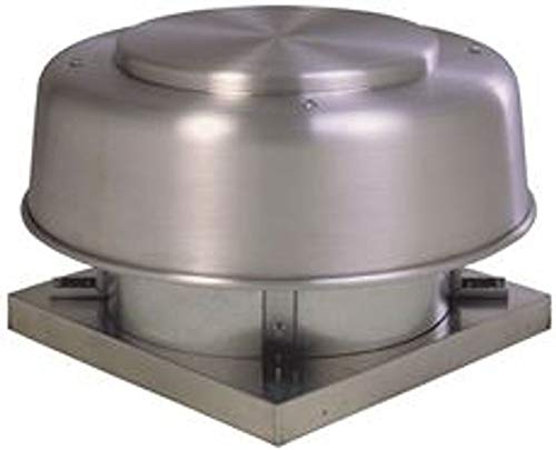 "Fantech 5ADE102A Direct Drive Axial Exhaust Roof Vent, 10"", 547 CFM, 1/30 hp, 115V, ODP"