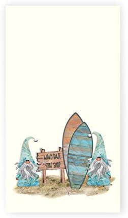 Gnome Surf Shop Tea Towel Bath Hand Towel Summer D cor Hostess Gift product image