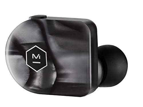 Master & Dynamic MW07 Plus True Wireless Earphones - Noise Cancelling with Mic Bluetooth, Lightweight in-Ear Headphones - Luxury Black Pearl