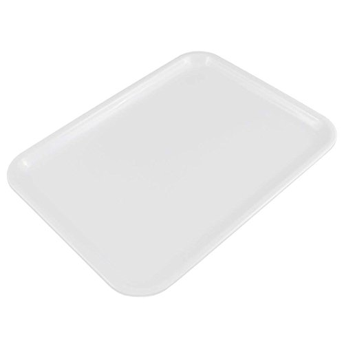 Milopon Bandeja Plástico Rectangular Bandeja para servir placas Bandeja para gastronomía restaurante Pub Bar