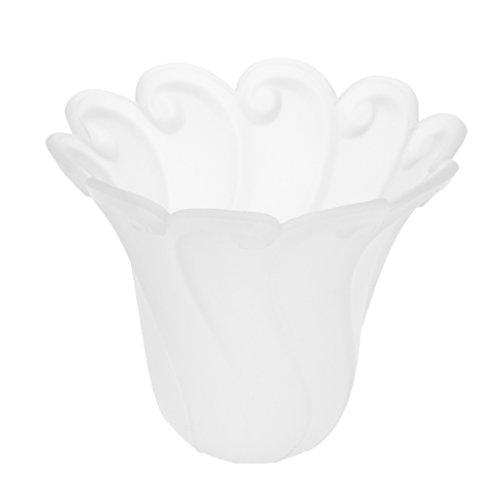 FLAMEER E27 Glas Lampenschirm Lampenglas Ersatzglas Ersatzschirm für Kronleuchter Wandleuchte Hängeleuchte - Typ 8