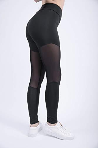Hoog getailleerde yoga-legging voor dames met zakken Enkellange actieve legging