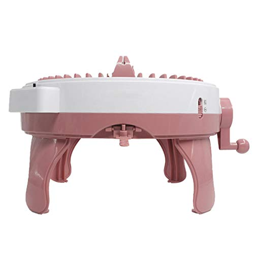 Rosymity Knitting Machine,Made by Plastic/No Odor/DIY Hands-on Knitting Machine/Easy to Use A Good Gift for Birthdays, Thanksgiving, New Year and Christmas