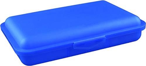 Buchsteiner Klickbox flach mit Inneneinteilung (blau)