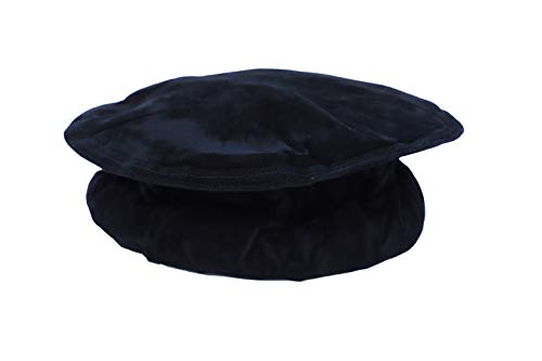 Afghan Pakol Pakul Hat Nwfp Taliban Gear Mens Tribal Head Desert Dress Gear (Black, 58cm)