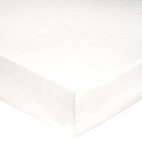 Drap Plat 280/320 Coton Blanc