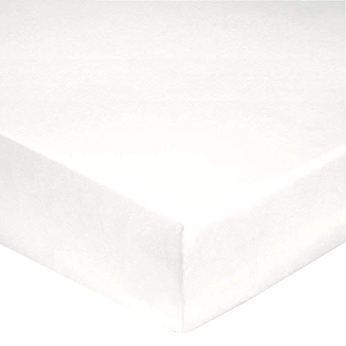 Sábana bajera algodón 4cabezales 160/200blanco (conseillé para cama Eléctrica cabeza y pie...
