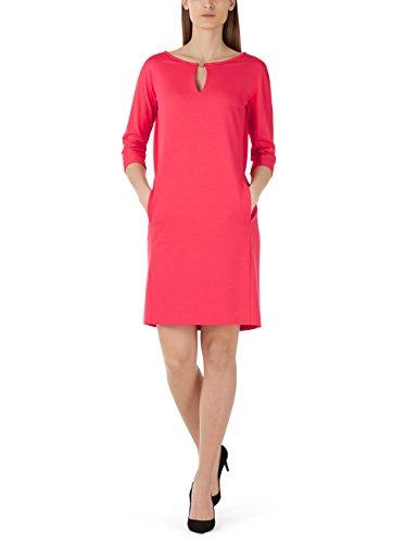 Marc Cain Collections Damen Strick Kleid Kc 21.73 J24 Midi, Rosa (GERANIUM 248), 40 (Herstellergröße: N4)