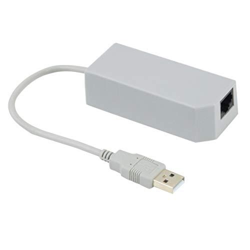 Neueste LAN-Netzwerkadapter-Anschluss USB-Internet-Ethernet für Nintendo für Wii/für Wii U/PC Promotion