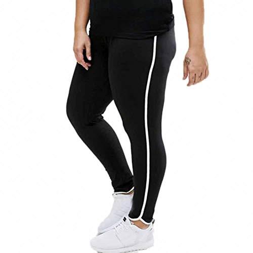 GDRFHJZ yoga-leggings, sportbroek, dames, grote maten, elastisch, netstof, sportbroek voor dames