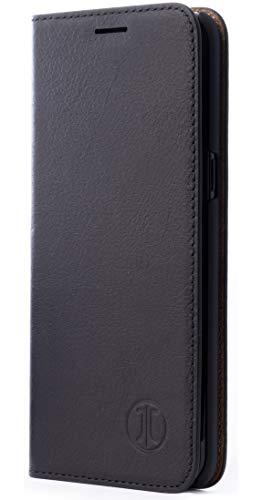 JT Berlijn hoes, Samsung Galaxy S10, BookCase Tegel - zwart
