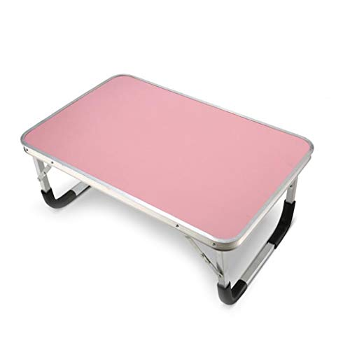 Bedtafel voor laptop, opvouwbaar dienblad voor het ontbijt van de bank van het bureau, draagbare tafel