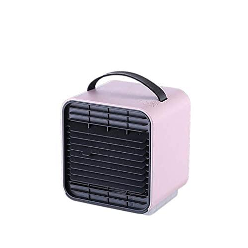 Ventilador USB, aire acondicionado de iones negativos, purificación de aire frío y ventilador de refrigeración de la humidificación, ajuste de velocidad de 3 velocidades de ajuste de velocidad multifu